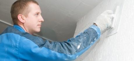 Reparar grietas en paredes de yeso